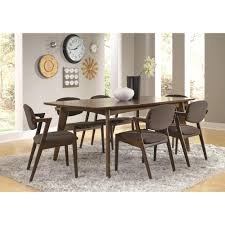 mid century modern casual dining table