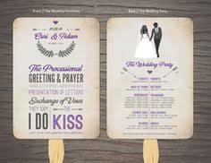 Wedding Program Fans Cheap Custom Wedding Programs Cheap Programs By Thedesignbrewery On