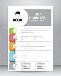 layout cv resume or cv template layout template in a4 size royalty free