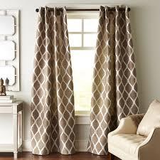 Moorish Tile Curtains Moorish Tile Taupe Grommet Curtain Moorish Taupe And Grommet