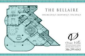 ocean villas condos floor plan 3703 s atlantic ave 32118