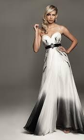 long black and white prom dresses prom dresses cheap