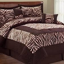 Pink Zebra Comforter Set Full Animal Print Bedding King Size Foter