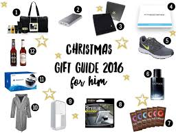 christmas gift guide 2016 for him love from mummy