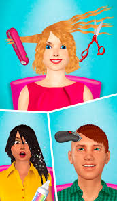 hair makeover salon game android apps on google play
