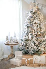 Christmas Decoration In Home Remarkable Mesmerizing White And Silver Christmas Decor 89 In Home