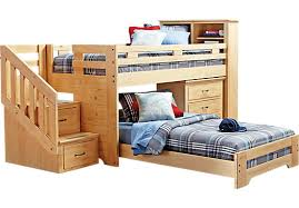 Bunk Beds At Rooms To Go Shop For A S Collection Lost Creek Pine Jr Step Bunk