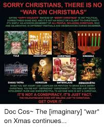 sorry christians there is no war on saying happy holidays
