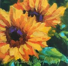 sunflowers for sale daily paintworks sunflower duo original for sale