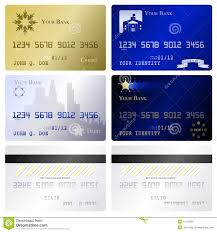 Credit Card Design Template Credit Card Templates Royalty Free Stock Photo Image 15109325
