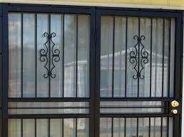 Security Bars For Patio Doors 32 Best Door Security Bars Gate And Grilles Images On Pinterest