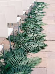 California Cool Scents Tropicana Free 1pc Palm Hang Outs Aroma Rand 2018 trend tropical leaf greenery wedding decor ideas greenery