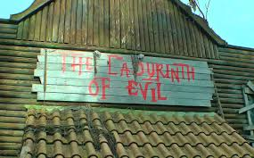 labyrinth of evil maze halloween doolhof spookhuis haunted