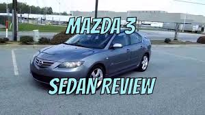 mazda reviews 2004 mazda 3 sedan review youtube