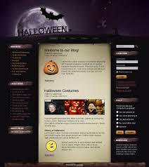 free halloween templates halloween joomla template 21500