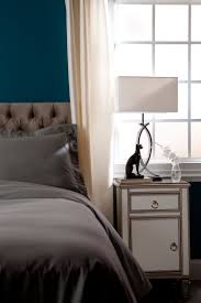 Benjamin Moore Designer White A Wall In Naples Blue Interiors By Color