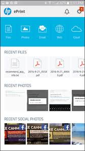 printer app for android hp printers printing with hp eprint app android