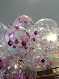 balloon delivery riverside ca pink confetti balloons confetti balloons confetti