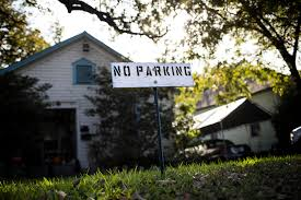 your house is it legal to post homemade u0027no parking u0027 signs in front of your