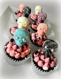 Halloween Skeleton Cupcakes by Sugar Swings Serve Some October 2013
