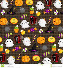 holloween background cute halloween background stock vector image 60323378