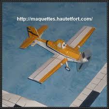 disney planes dusty crophopper ver 2 free aircraft paper model