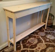Pine Console Table Pine Handmade Console Tables Ebay