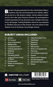 tactical checklists combat training aid mentor military
