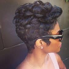 stacked haircuts for black women short haircuts black women