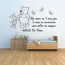 décoration winnie l ourson chambre de bébé winnie l ourson stickers muraux 3 bébé stickers muraux filles