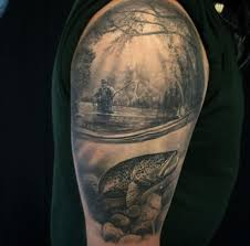 best 25 trout tattoo ideas on pinterest bear tattoos tree