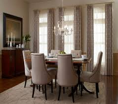 window treatments for living room and dining room curtains amp