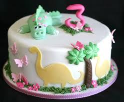 dinosaur cakes pink cake dinosaur cake