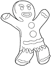 Ginger Bread Coloring Pages Holidayvillas Co Coloring Pages Bread