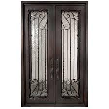 single door iron doors front doors the home depot
