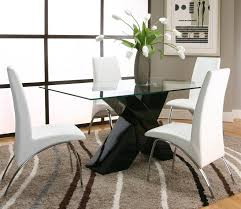 rectangular tempered glass table top with polyester polyurethane