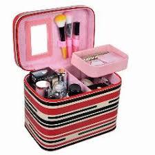 Vanity Makeup Box Makeup Organizer Case Cosmetic Box Toiletries Storage Case Beauty