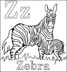 zebra coloring pages coloring pages children