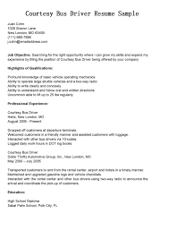 Sample Of Driver Resume by Coach Driver Cover Letter