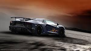 Lamborghini Aventador All Black - lamborghini aventador sv rendered in every color