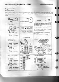 yamaha outboard gauges wiring diagram yamaha outboard gauge wiring