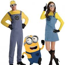 Despicable Minions Halloween Costume Buy Yellow Despicable Minions Costume Glasses Gloves