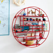 Kids Wall Shelves by Wall Shelves Design Modern Circular Wall Shelves Design Round