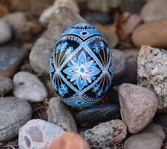 blue easter eggs blue easter eggs gift for baby boy baptism blue egg traditional