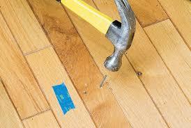 Squeaky Bathroom Floor How To Fix A Squeaky Hardwood Floor Stanley Tools