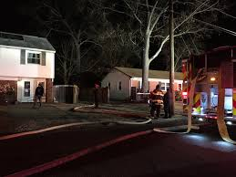 fire breaks out in hampton backyard saturday daily press
