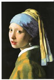 painting girl with pearl earring my impressions of vermeer the girl with the pearl earring 1665