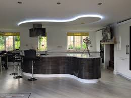 design island kitchen lima kitchen ripple white gloss and black white zebrano open