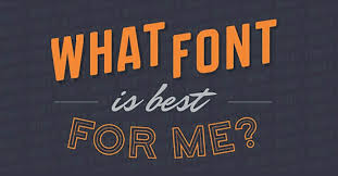 infographic how to choose the best font for your church reachright