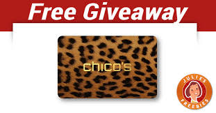 chicos gift cards chicos gift card giveaway julie s freebies